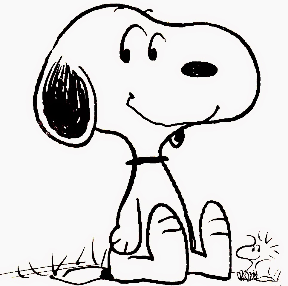 Smile Snoopy Coloring Pages Free Printable Coloring Pages For Kids