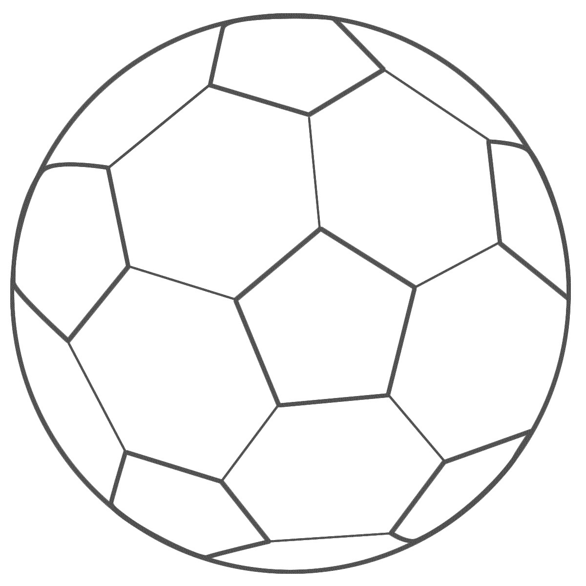 Printable Soccer Ball Coloring Pages