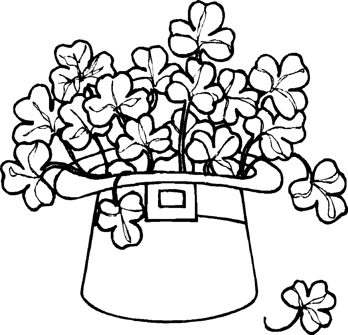 St Patricks Day Coloring Cool St Patrick Coloring Pages At