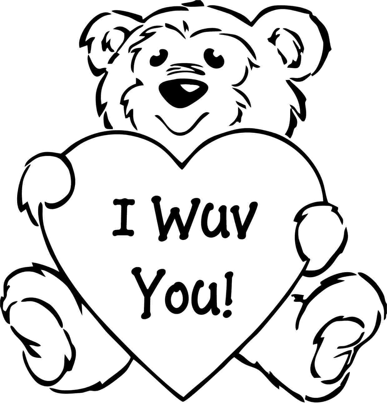 Download Coloring Pages  Valentine Coloring Pages  Valentine