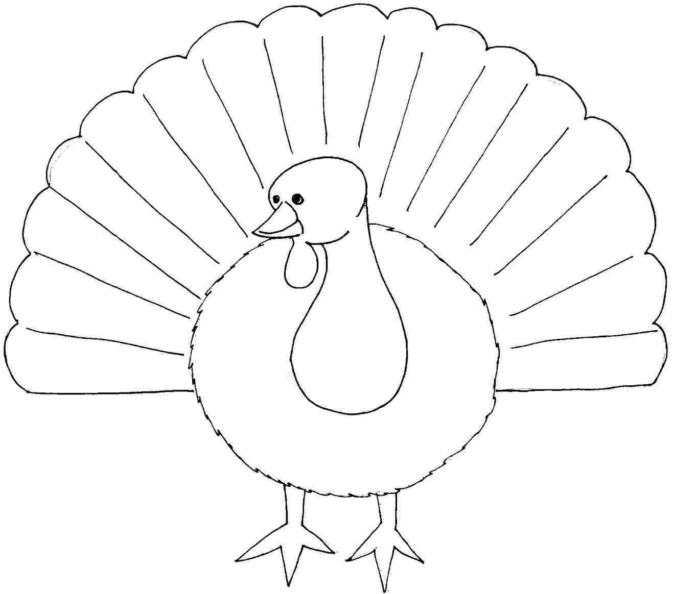 Valuable Inspiration Turkey Coloring Pages Turkey Coloring Pages