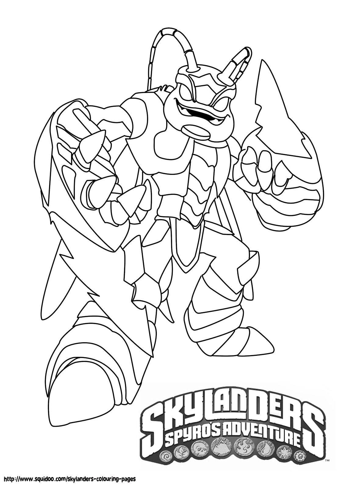 Staggering Skylanders Giants Printables Printable Skylander Giants
