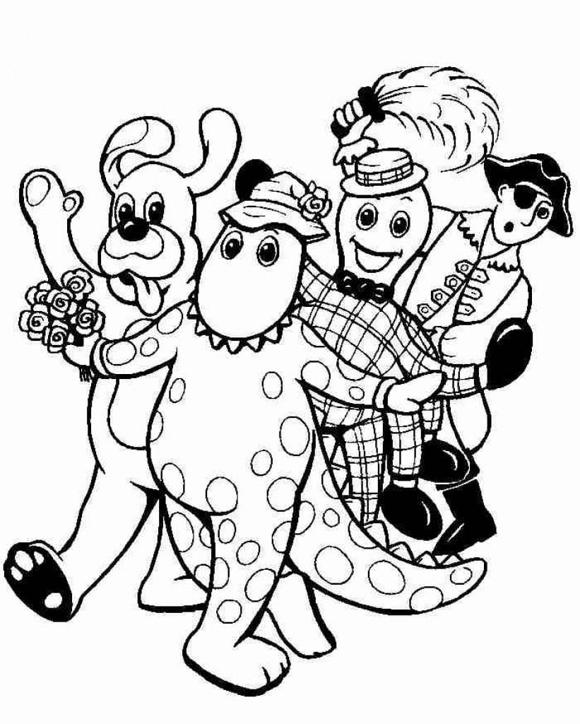 Wiggles Coloring Pages - NEO Coloring