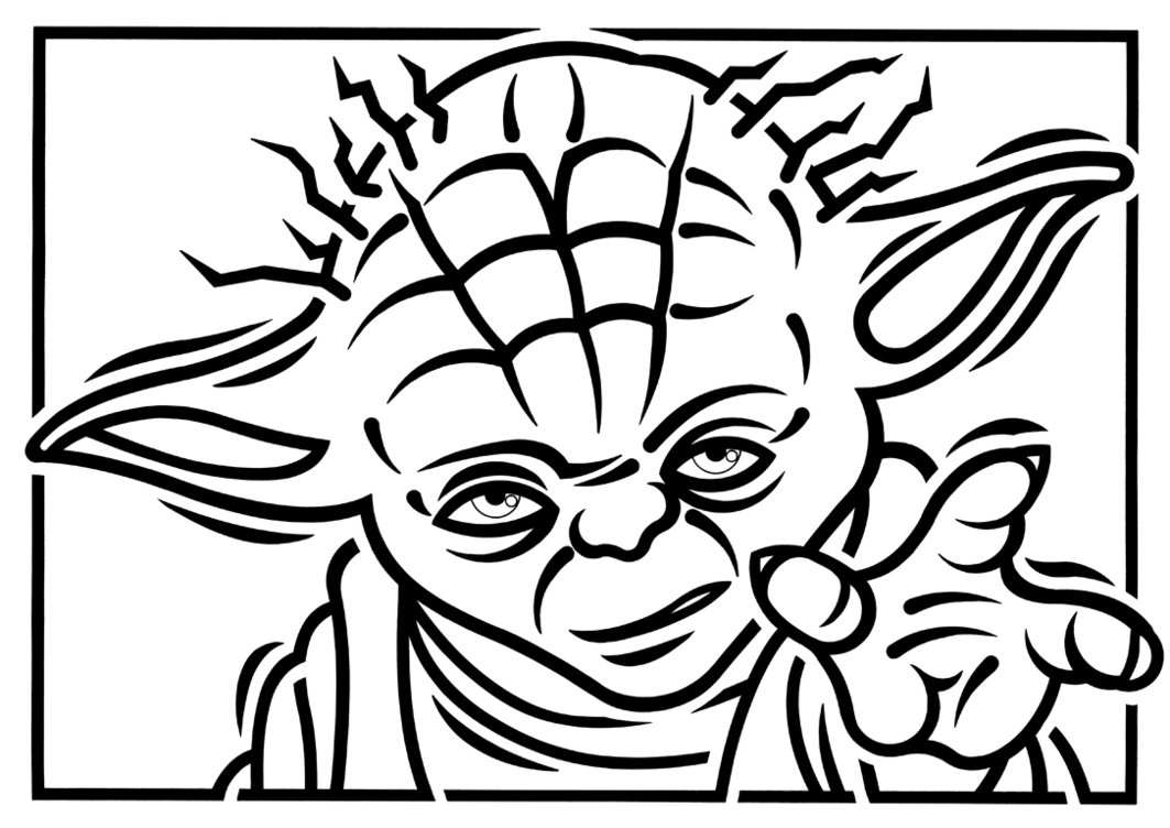 Download Coloring Pages  Yoda Coloring Pages  Yoda Coloring Pages