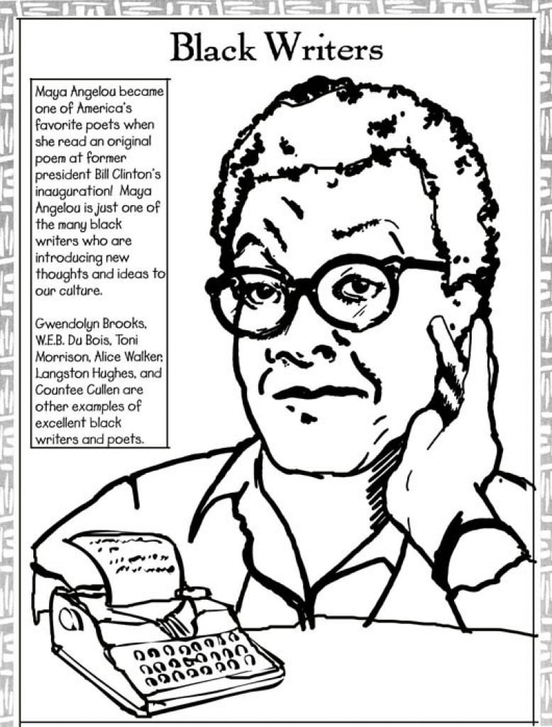 14 Coloring Pages Of Black History Month