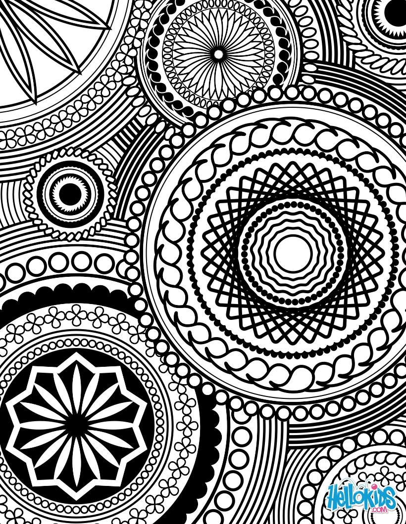 Adult Coloring Design Coloring Pages
