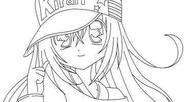 Coloring Pages Anime