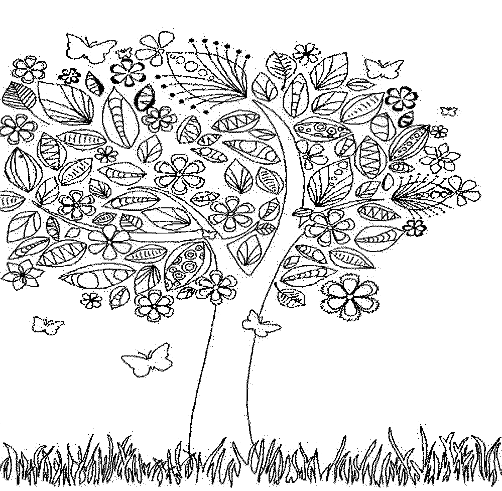 Autumn Coloring Pages For Adults – Color Bros