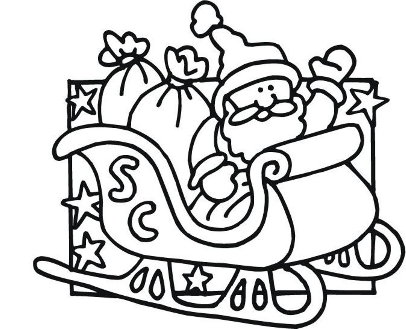 Awesome Fxpkys From Santa Claus Coloring Pages On With Hd