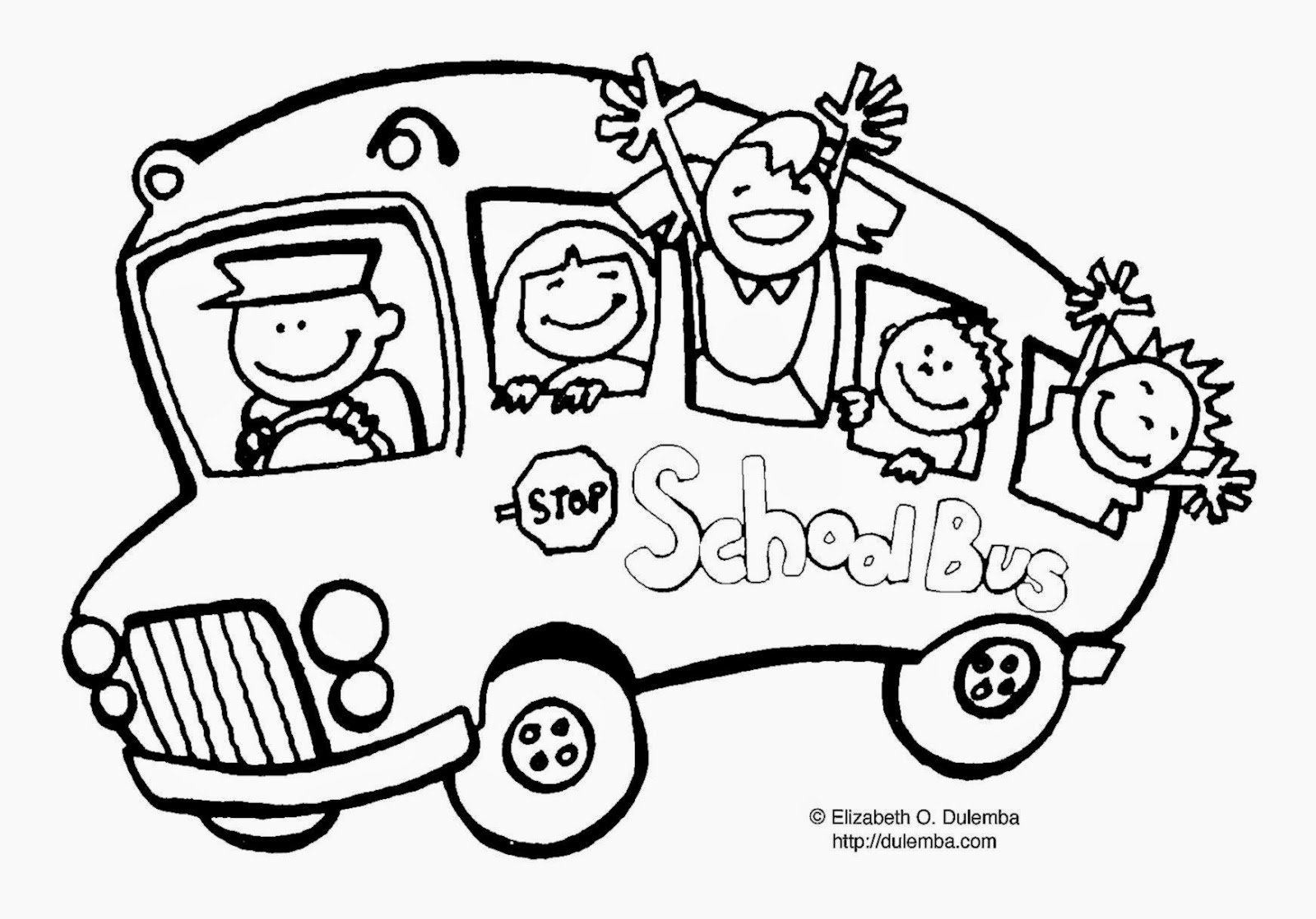 Back To School Coloring Pages Free Printables