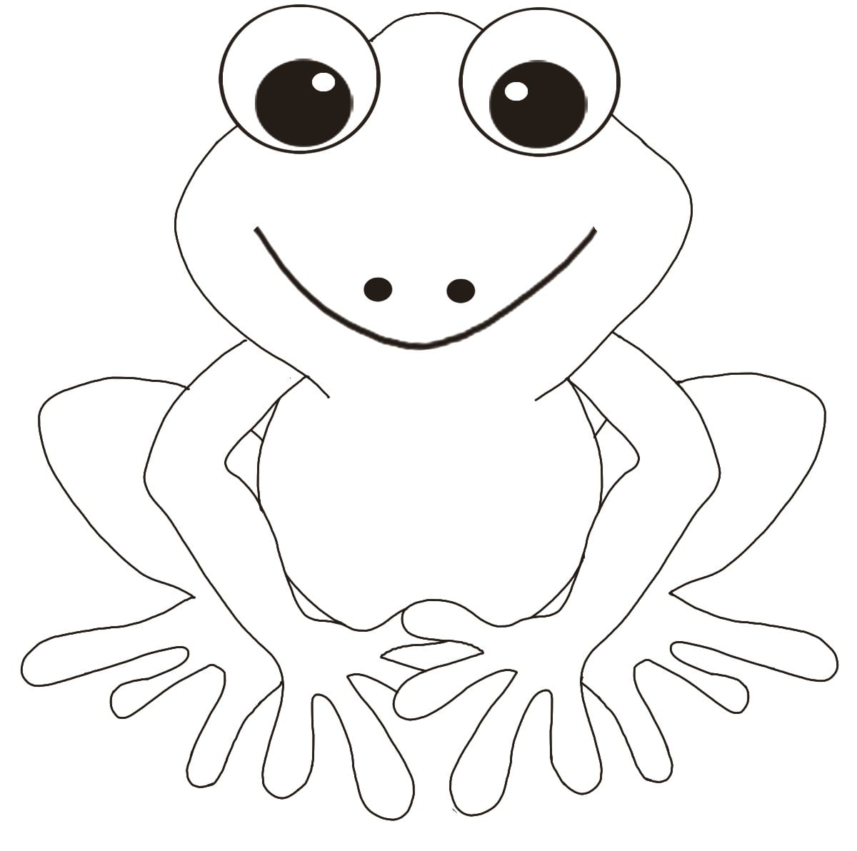 Cool Coloring Pictures Of Frogs 39  2180