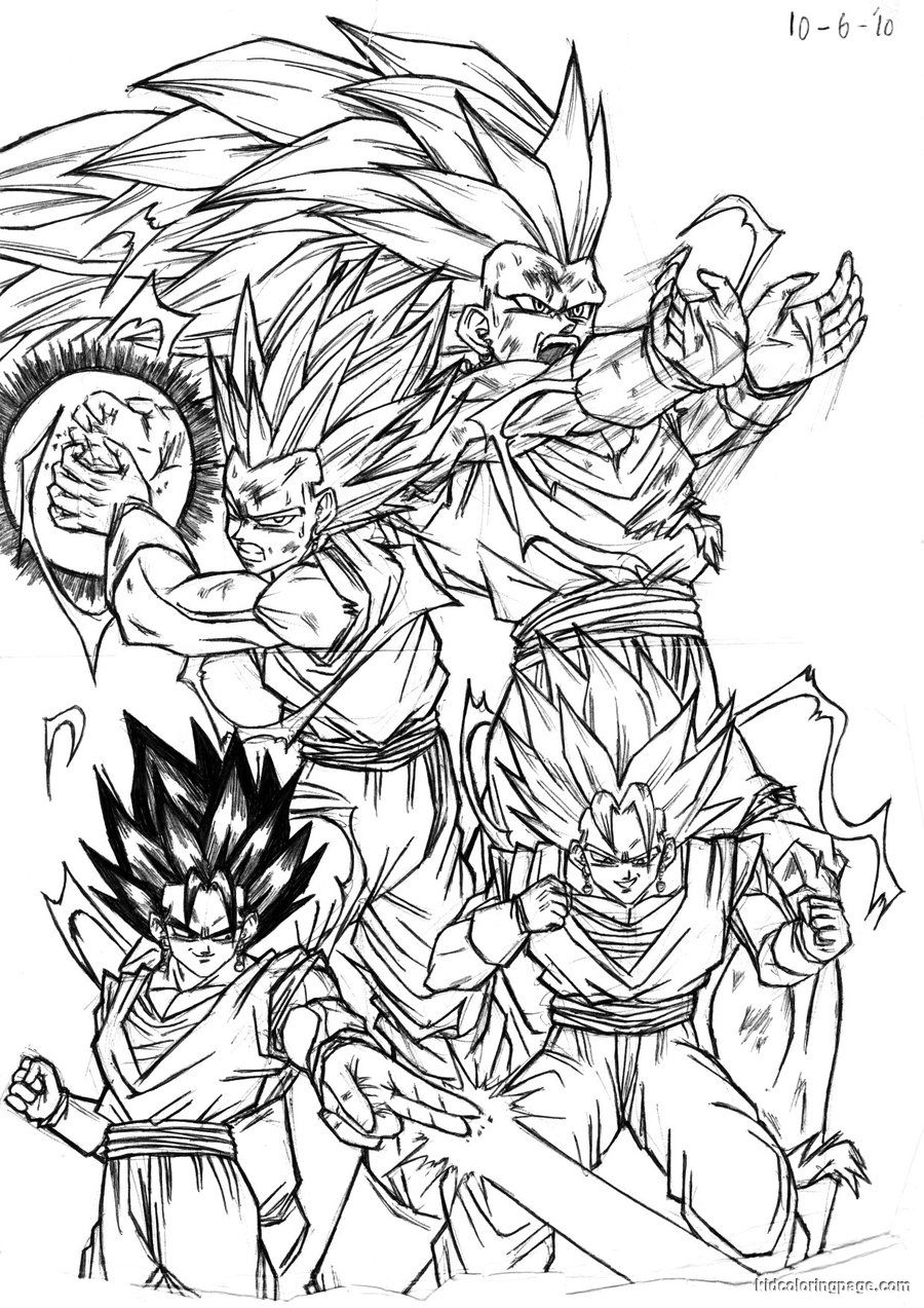 Ball Gt Coloring Pages