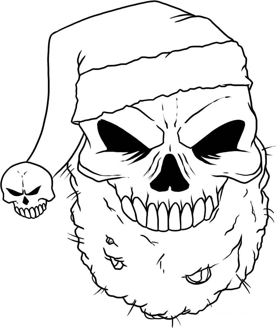 Skull Coloring Pages El Dia De Los Muertos Skull Coloring Pages