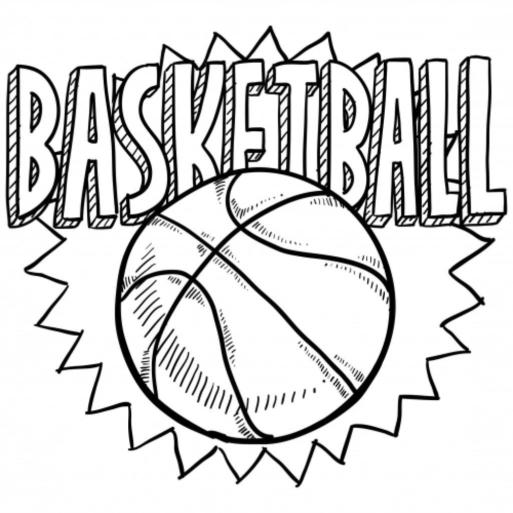 Basketball Pictures To Color  3352