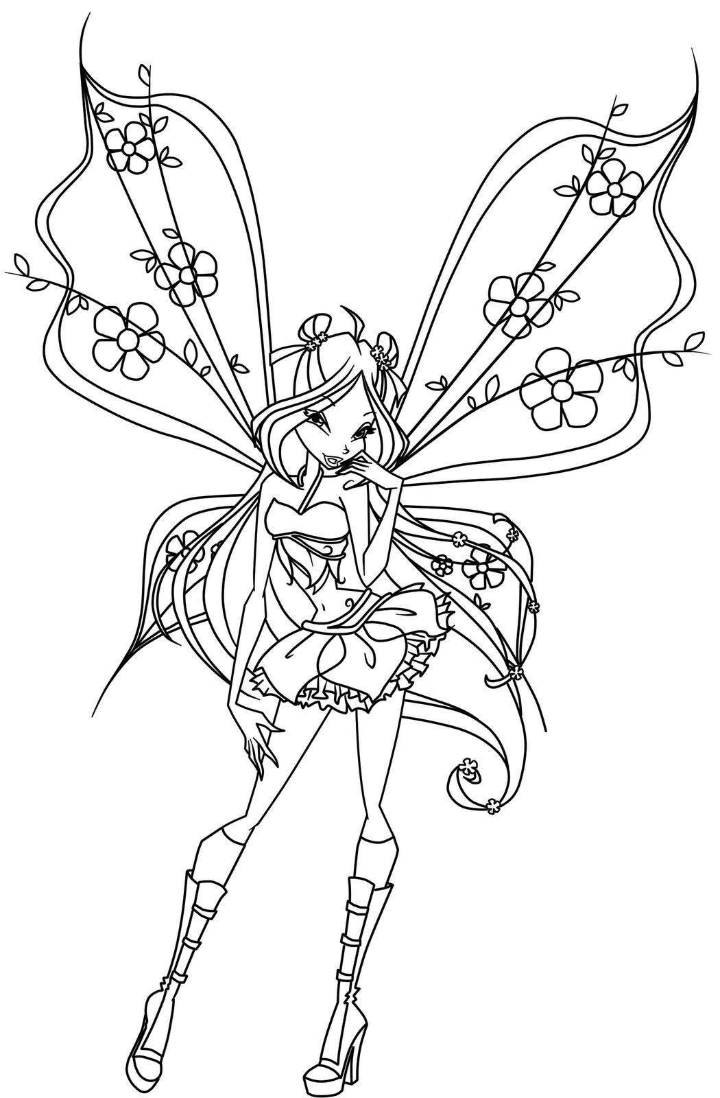 Best Fairy Coloring Pages Printable Free 2314 Printable