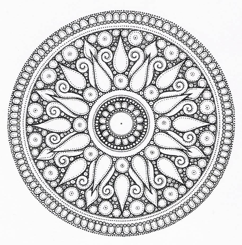 Free Printable Coloring Pages Of Cool Designs 462087
