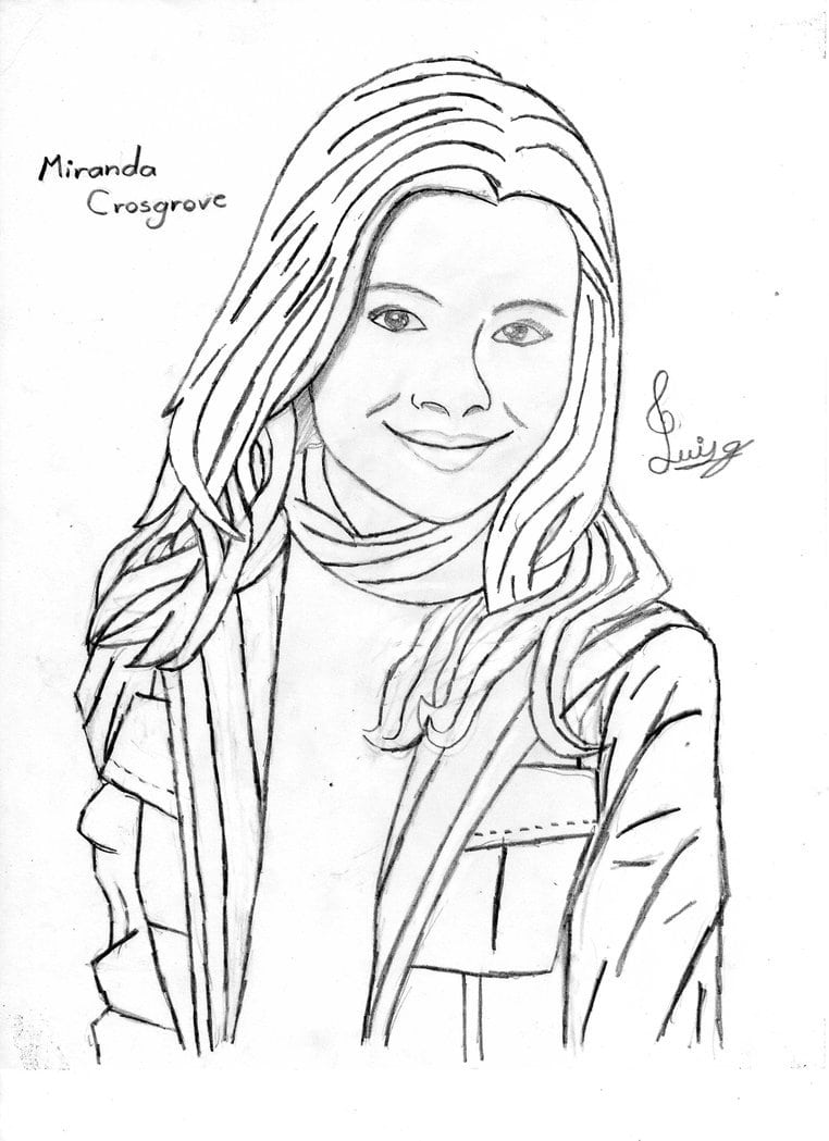 Coloring  Icarly Coloring Pages