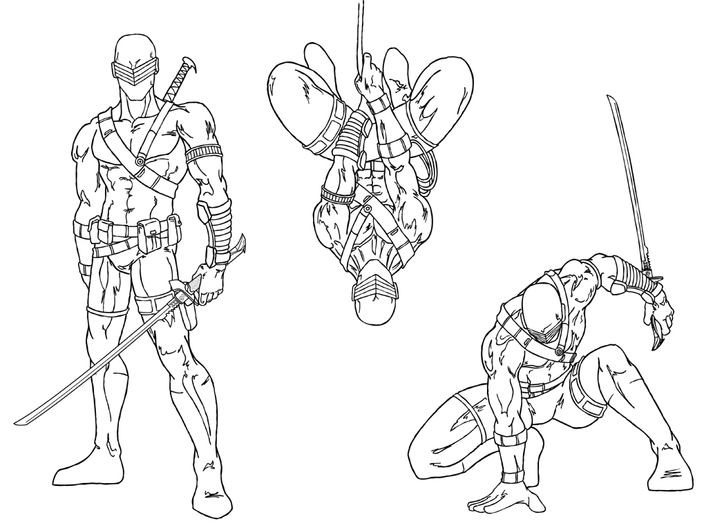 Gi Joe Coloring Pictures For Kids