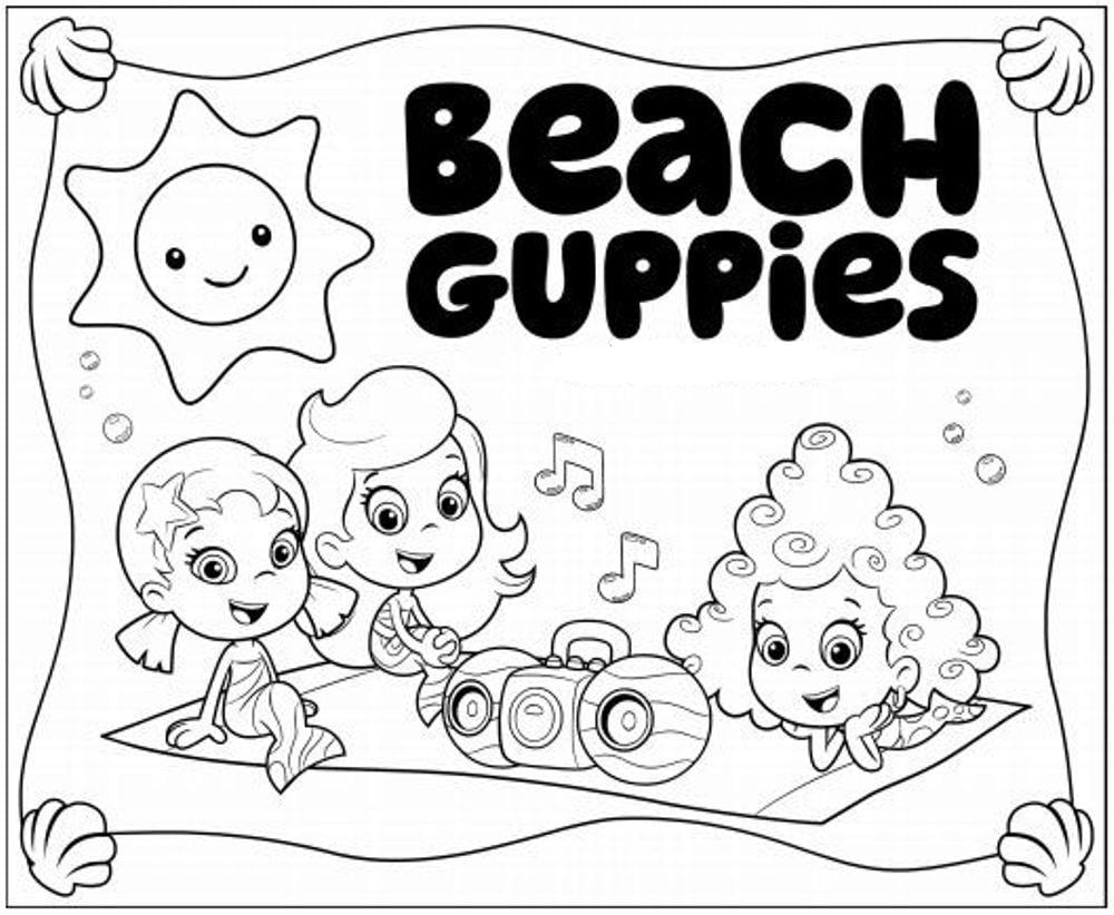 Impressive Bubble Guppies Pictures To Print 39  1628