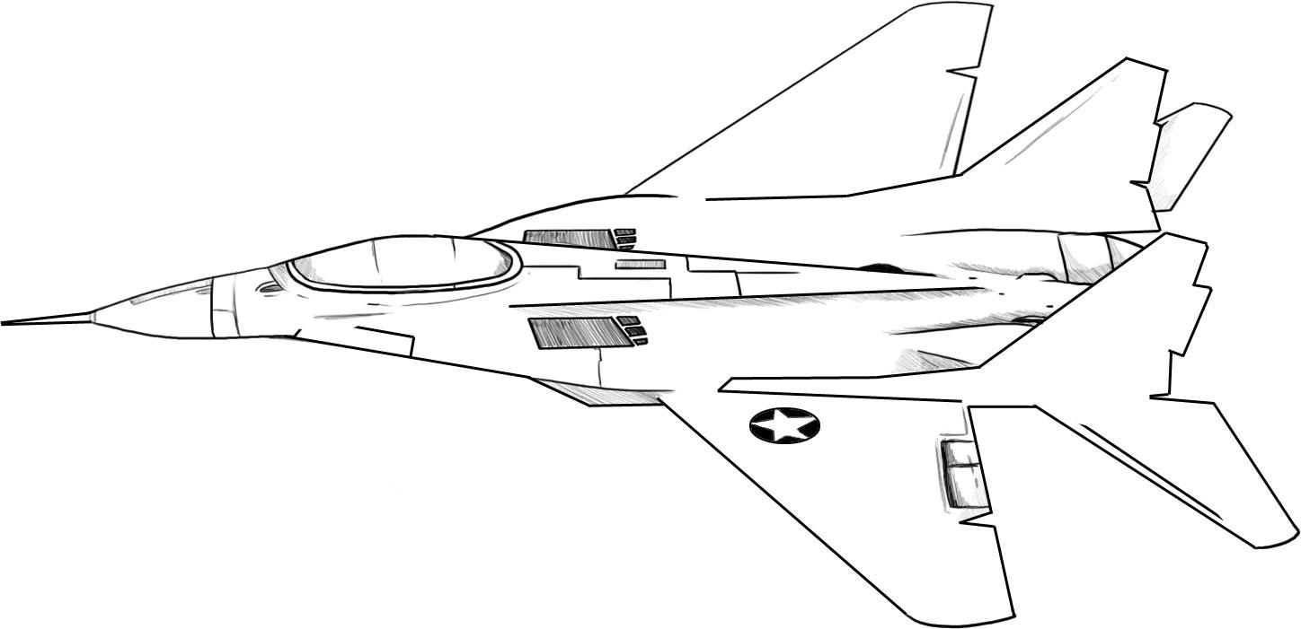 11 Jet Coloring Page, Free Navy Jet Coloring Pages