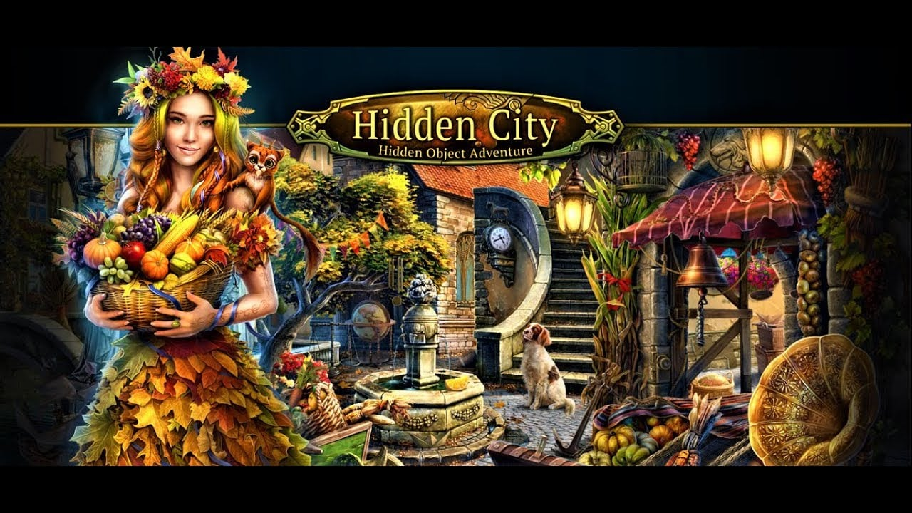 🍁hidden City  Hidden Object Adventure