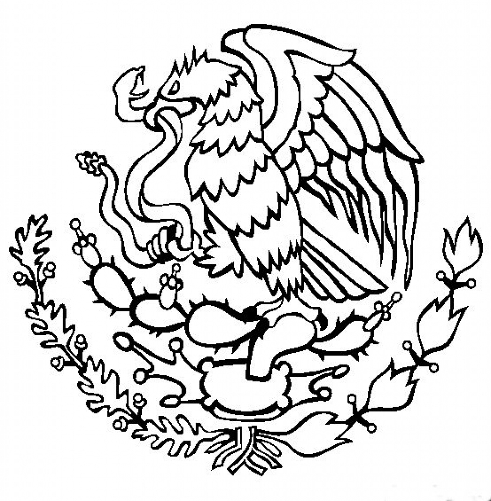 Mexican Coloring Pages