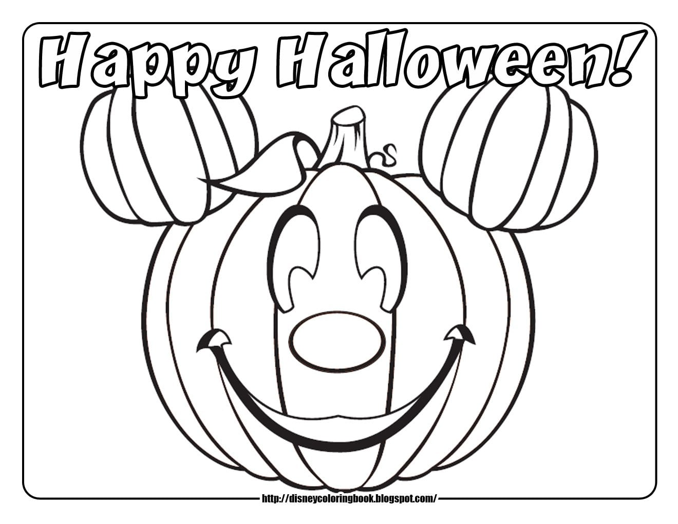 13 Halloween Coloring Pages To Print Out For Free, Free Coloring