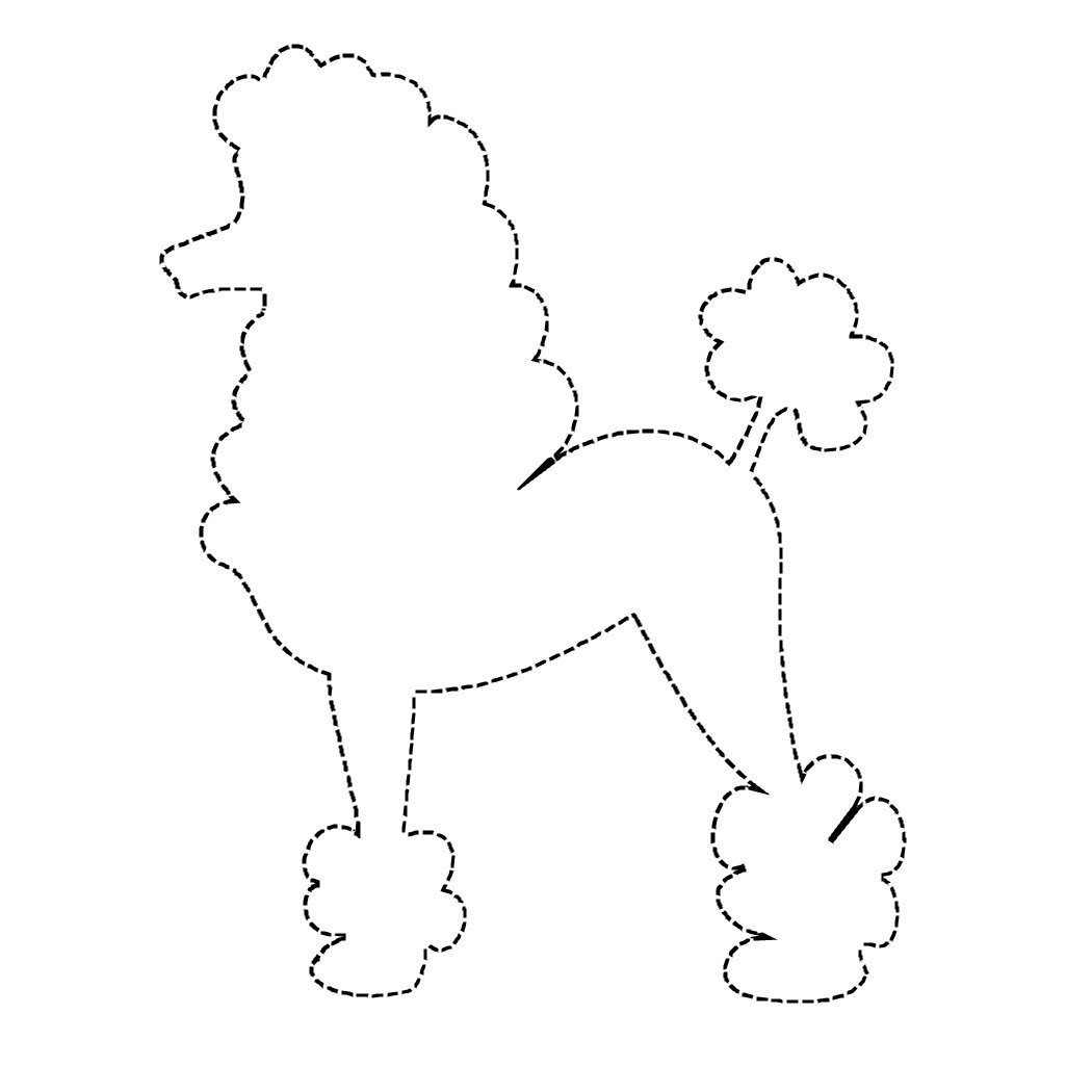 Skirt Outline Coloring Pages