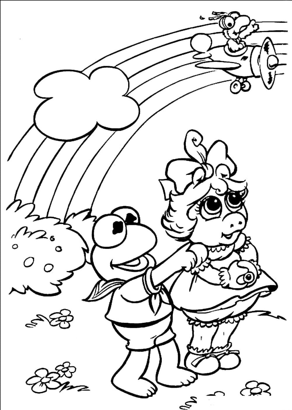 Free Printable Rainbow Coloring Pages For Kids – NEO Coloring