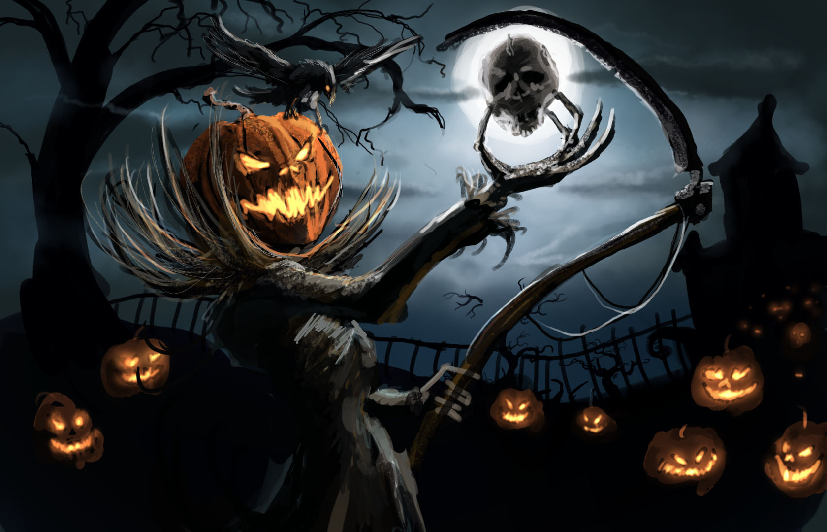 Scary Halloween Wallpapers Free