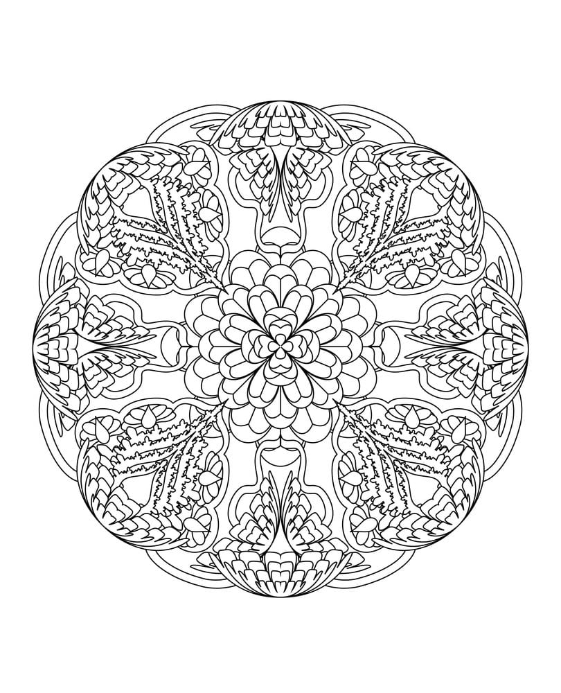 This Mandala Coloring Book For Grown Ups Is The Creative's Way To