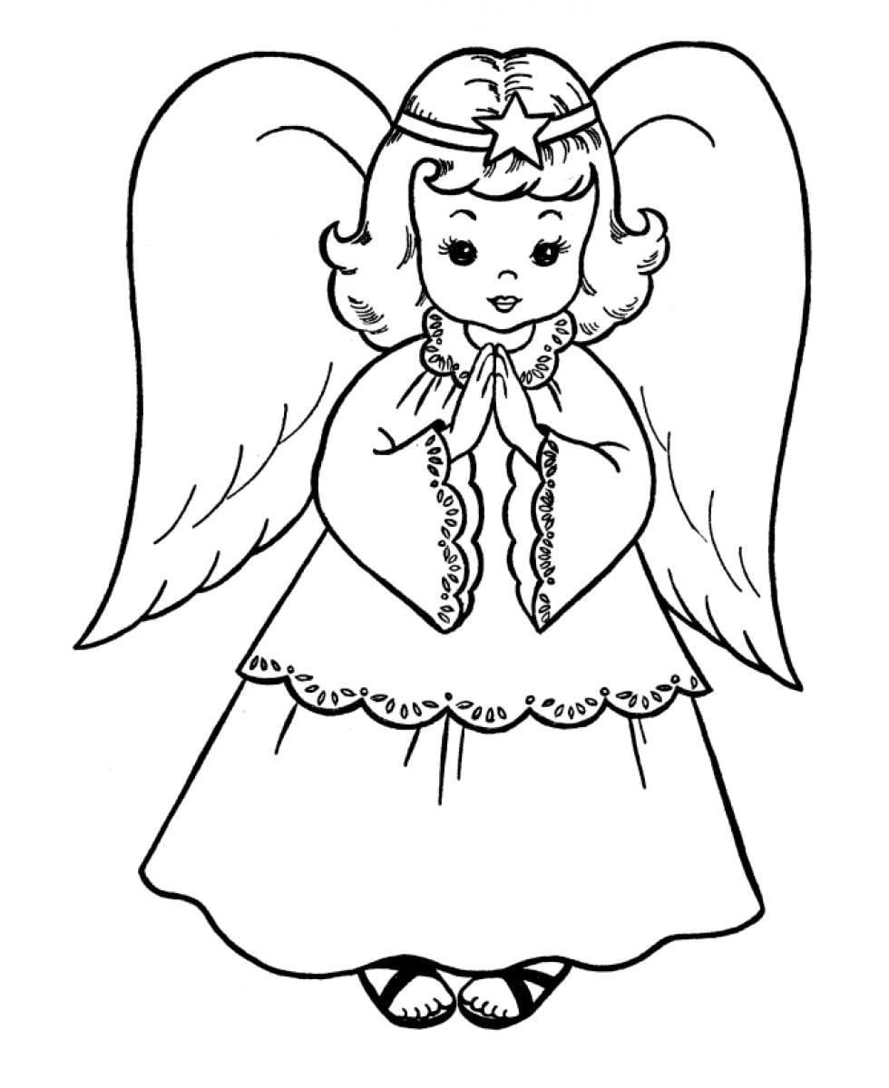 Trend Coloring Pictures Of Angels 46  2813