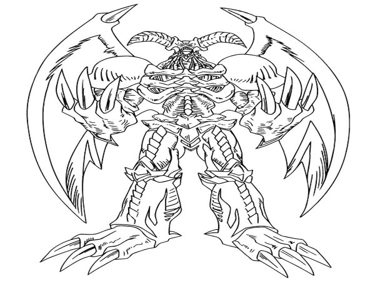 Yugioh Coloring Pages To Print  7485