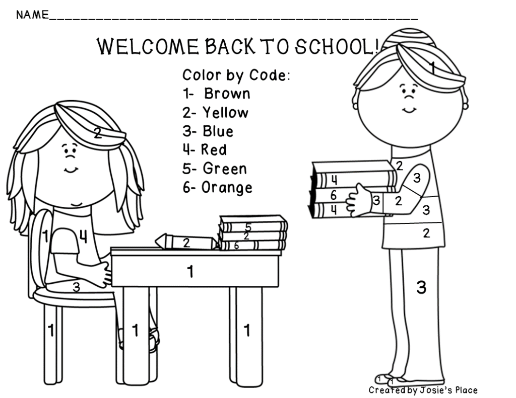 Welcome To School Coloring Page Many Interesting Cliparts