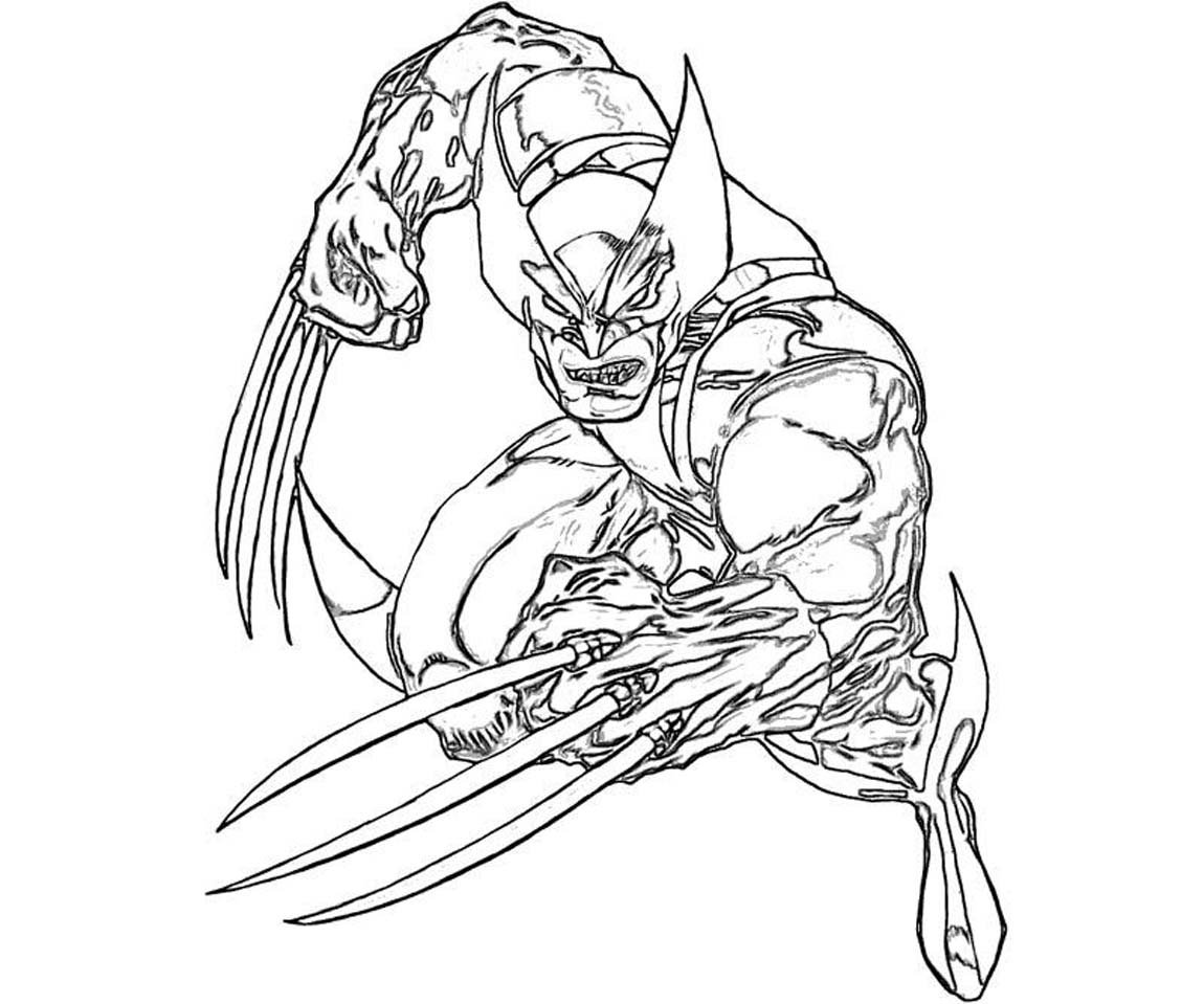 Coloring Pages For Men X Men Coloring Pages Free Coloring Pages