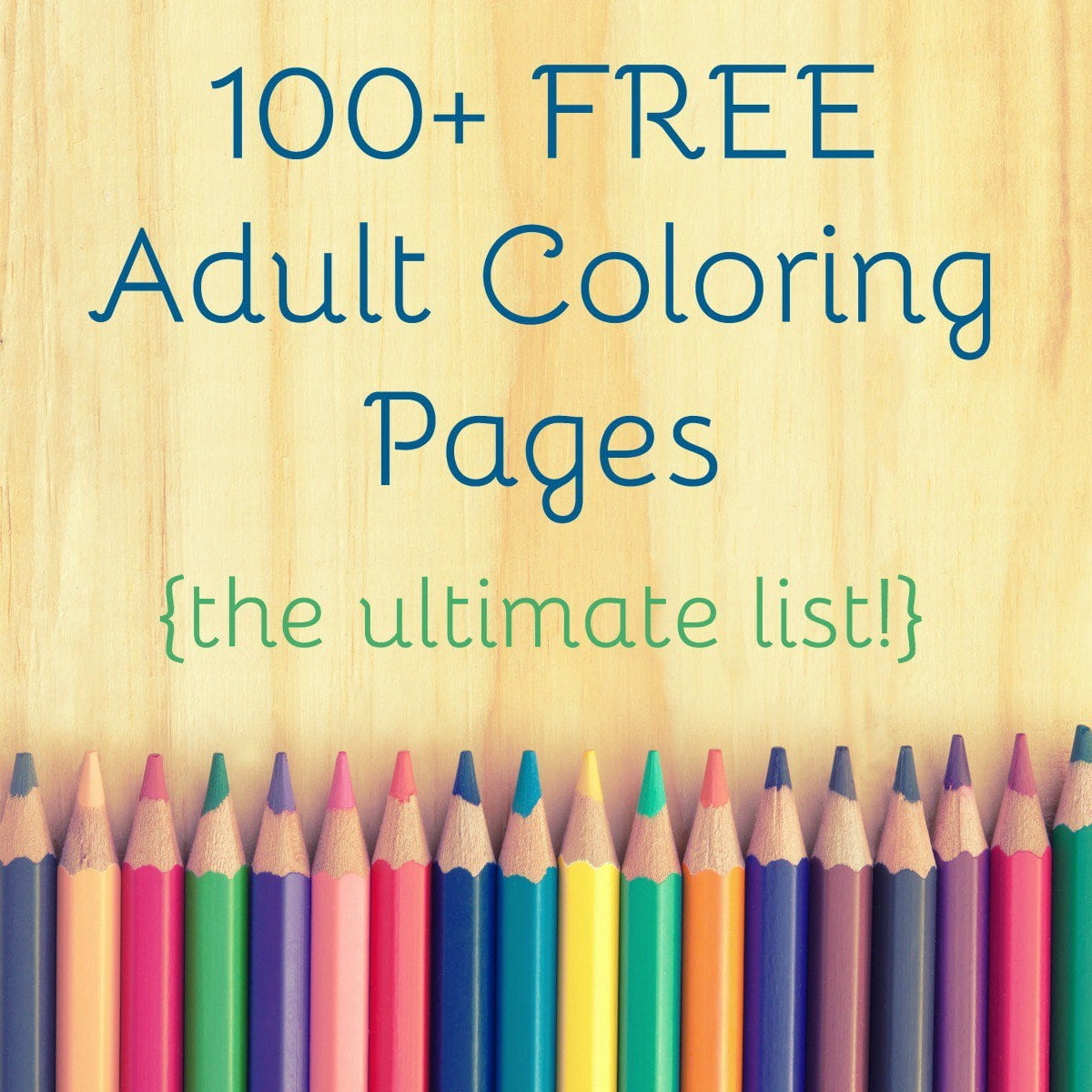 25 Free Adult Coloring Pages