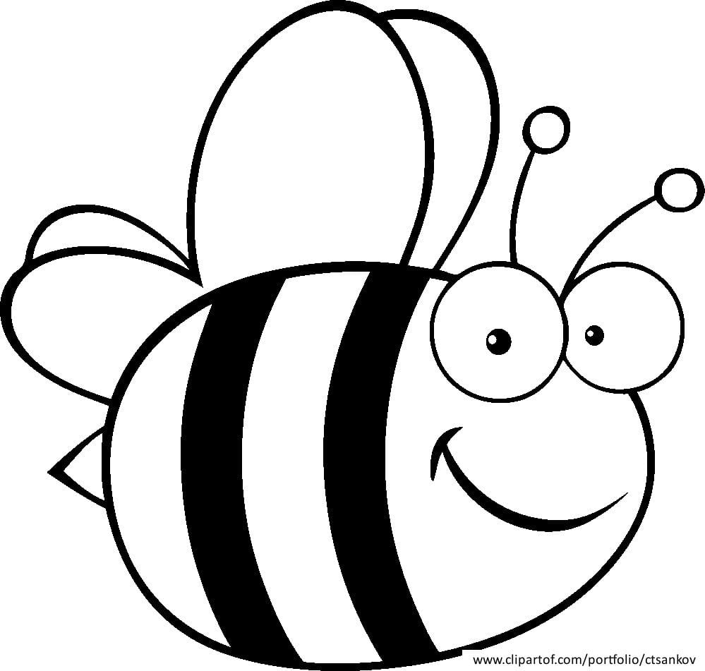 Related Bumble Bee Coloring Pages Item