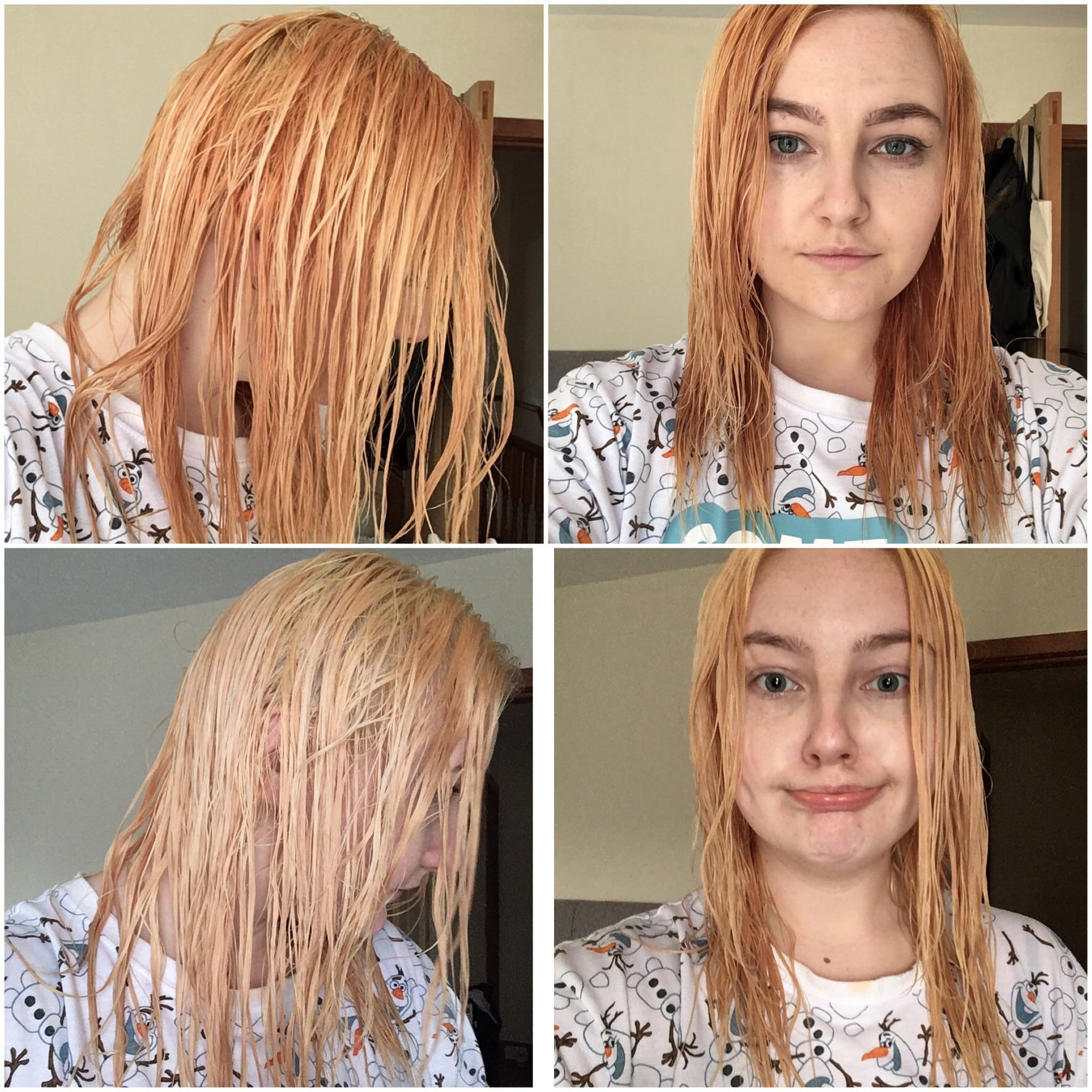 Bleaching My Hair At Home – Lifeofrhi
