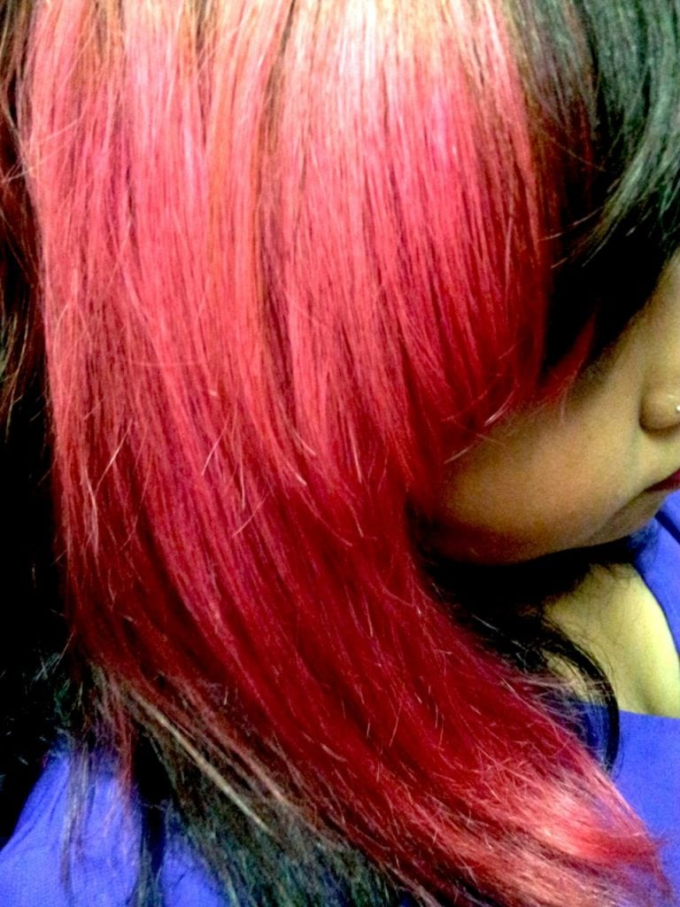 Opinion  I Dyed My Hair With Food Coloring And I'm Never Going