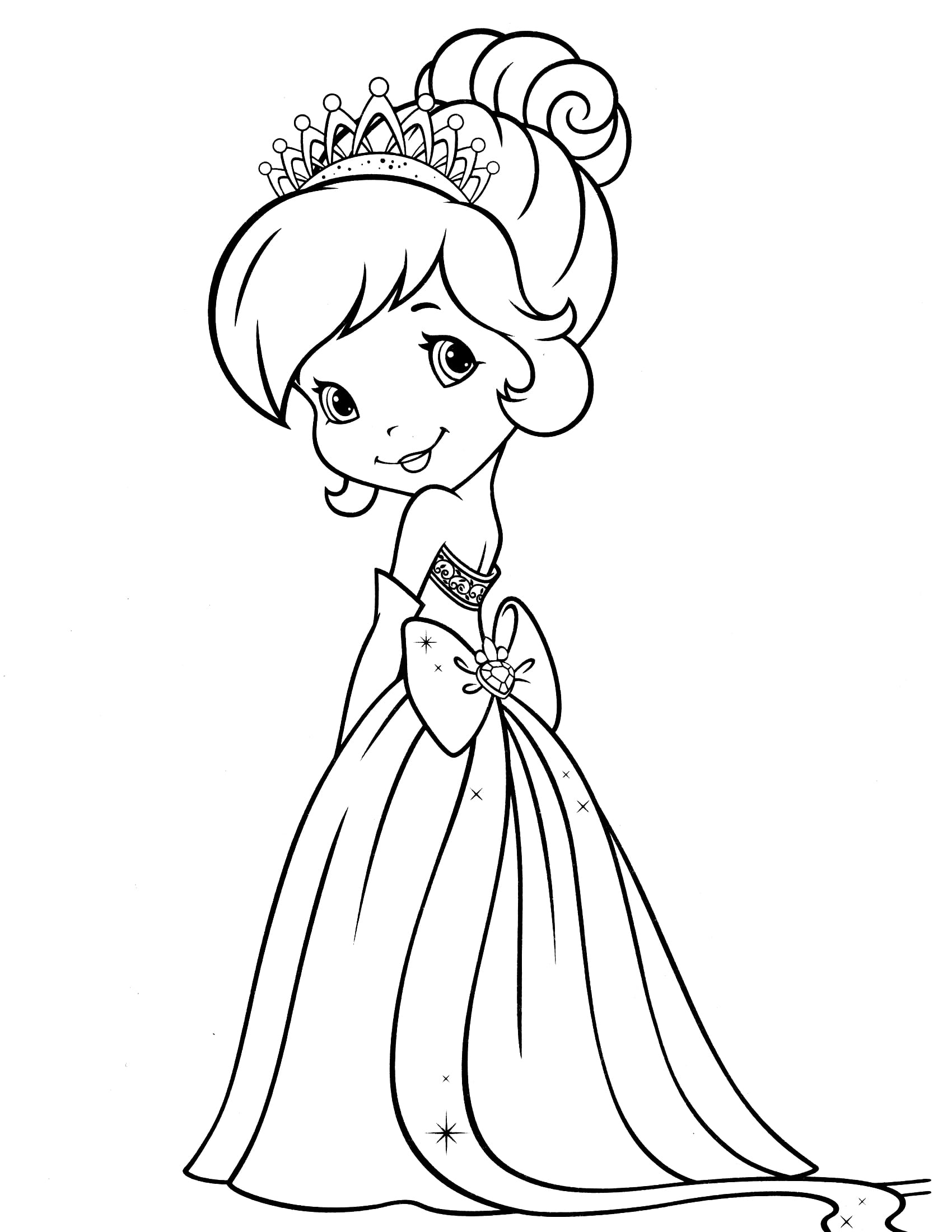 24 Strawberry Girl Coloring Pages Strawberry Shortcake Coloring