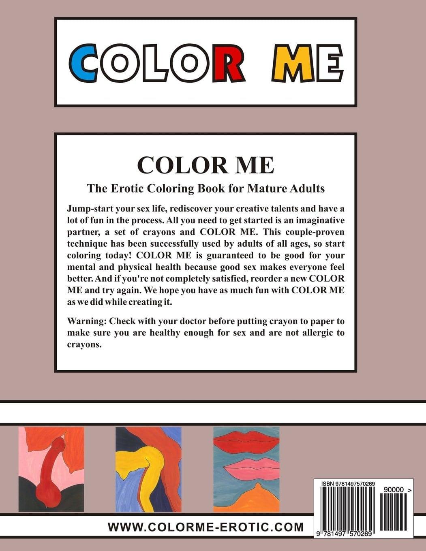 Amazon Com  Color Me  The Erotic Coloring Book (9781497570269