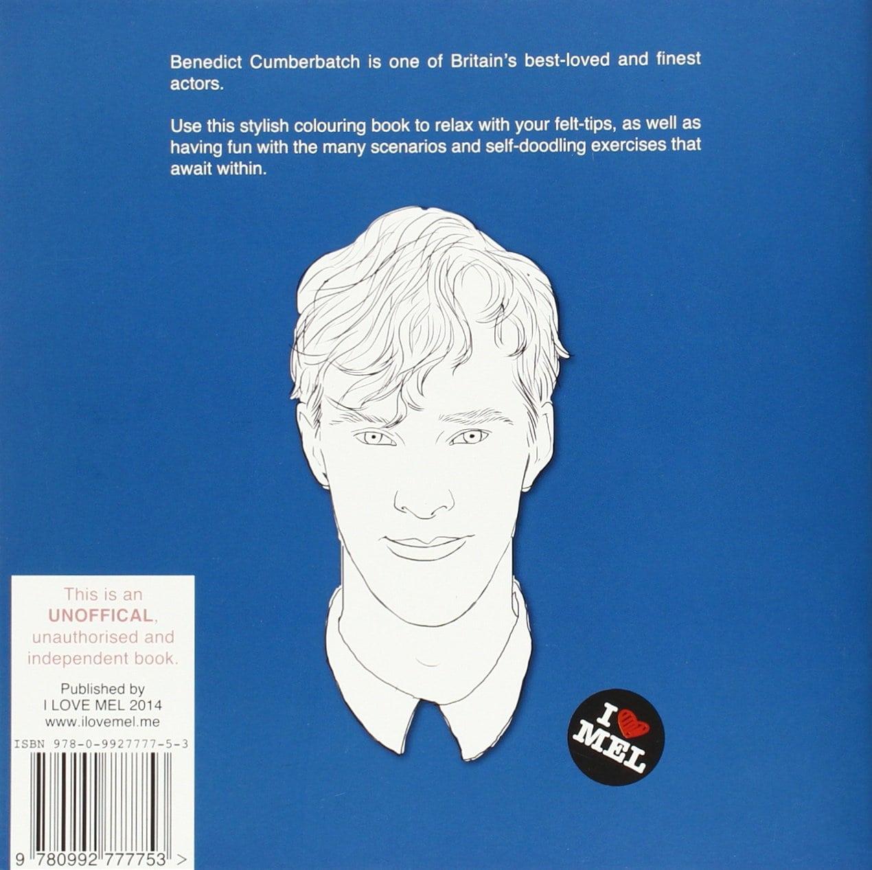 Amazon Com  Colour Me Good Benedict Cumberbatch (9780992777753