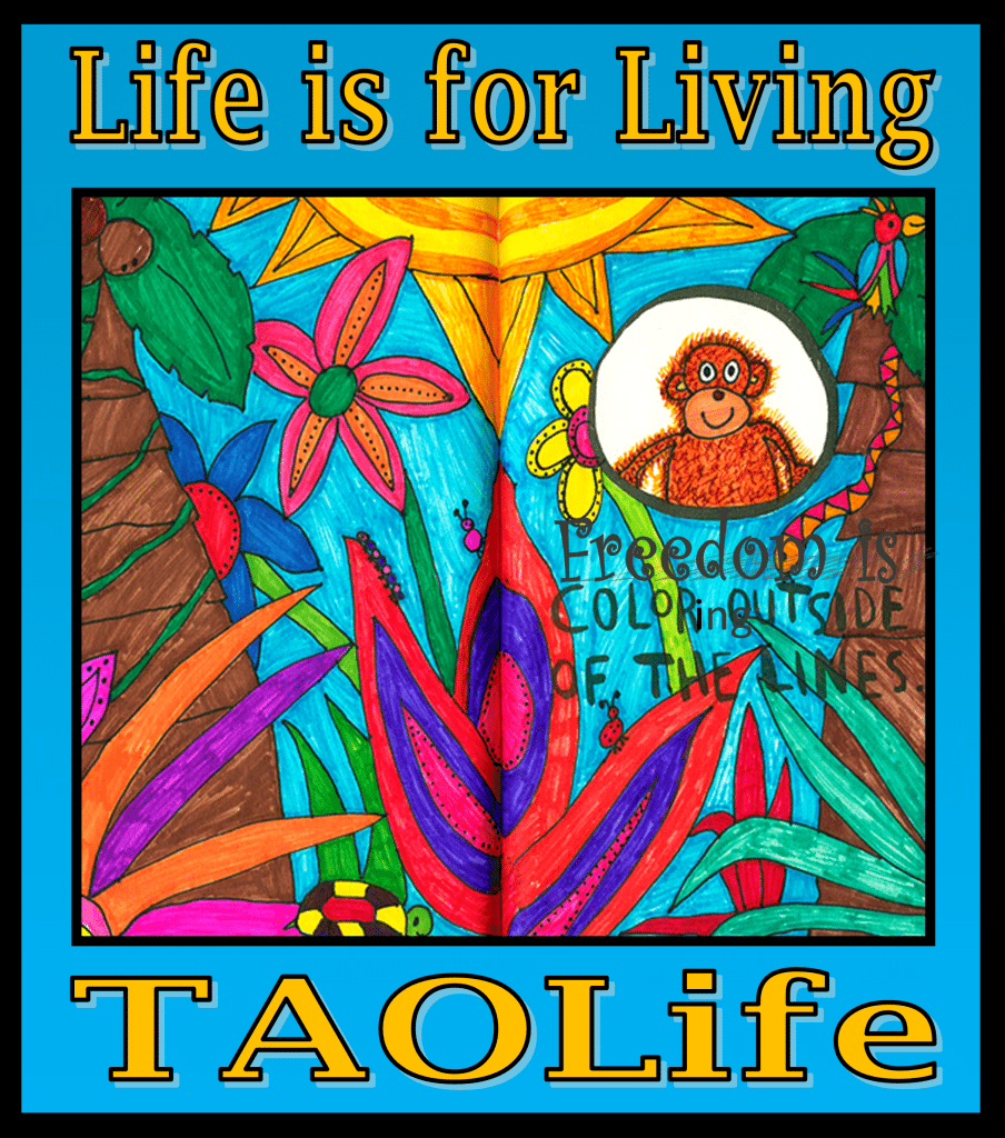 Poster  Freedom Is Coloring Outside The Lines  Quote  Taolife