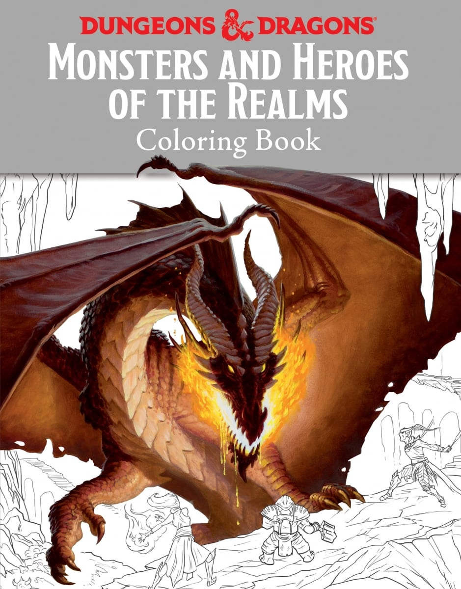 Dungeonology And D&d Coloring Book