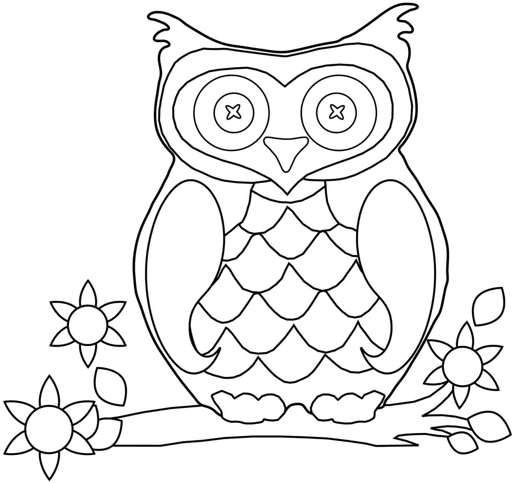 9 Free Owl Coloring Pages Rallytv Org Adorable For Kids Minion