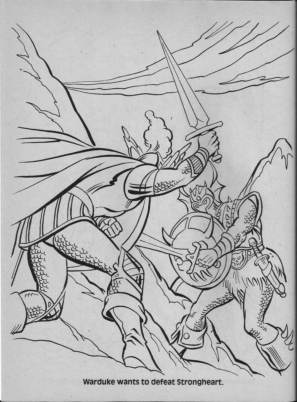 Advanced Dungeons & Dragons Characters Coloring Book (1983) (part