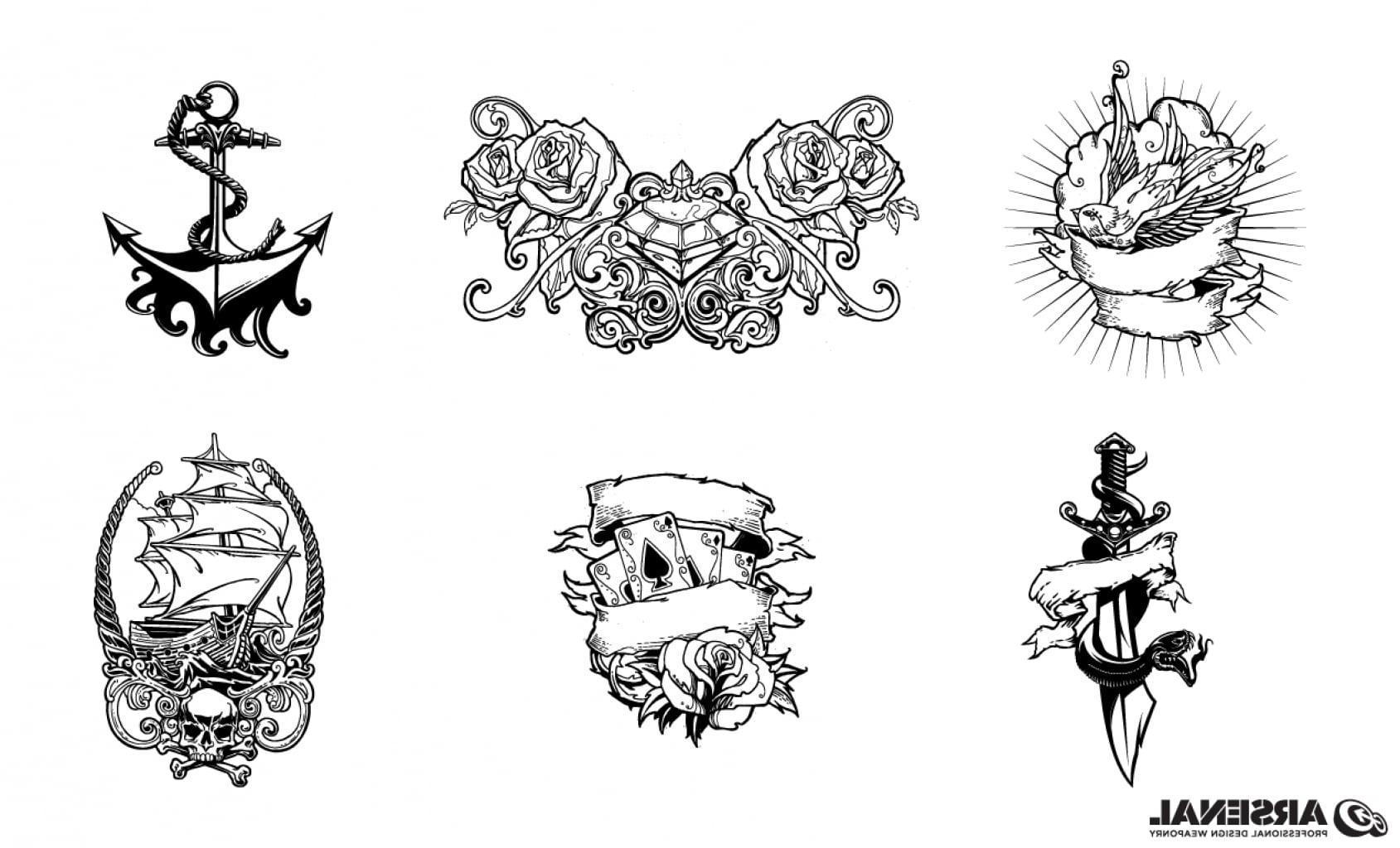 Adobe Illustrator Tattoo Design Pack Inside Classic Tattoo Designs