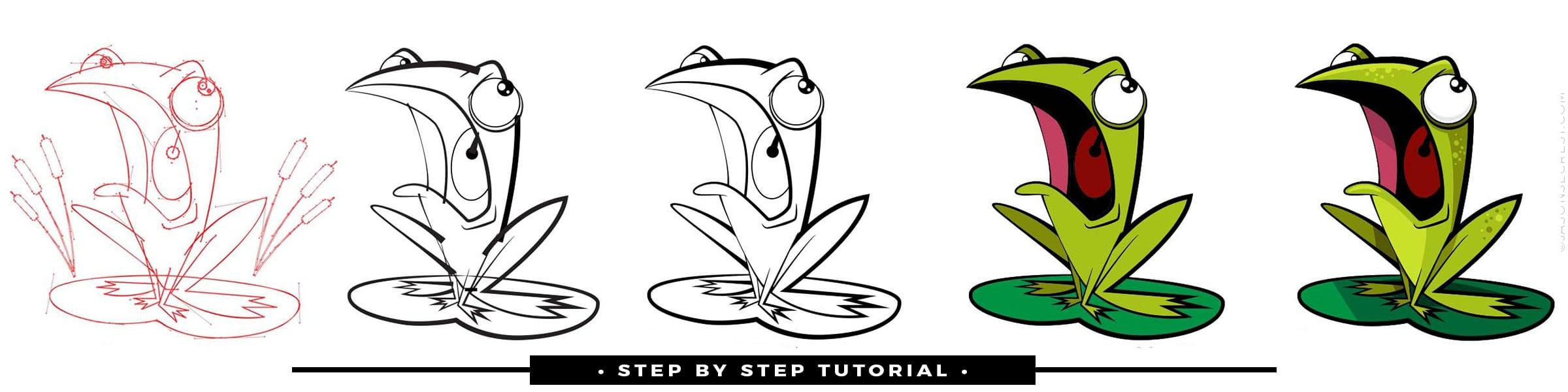 Advanced Illustrator Coloring Using Gradients Tutorial