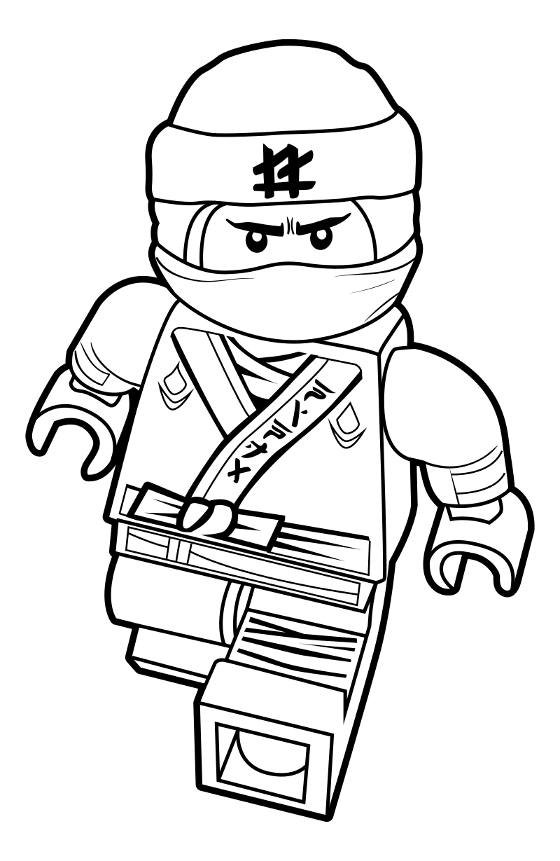 The Lego Ninjago Movie Coloring Pages  11190