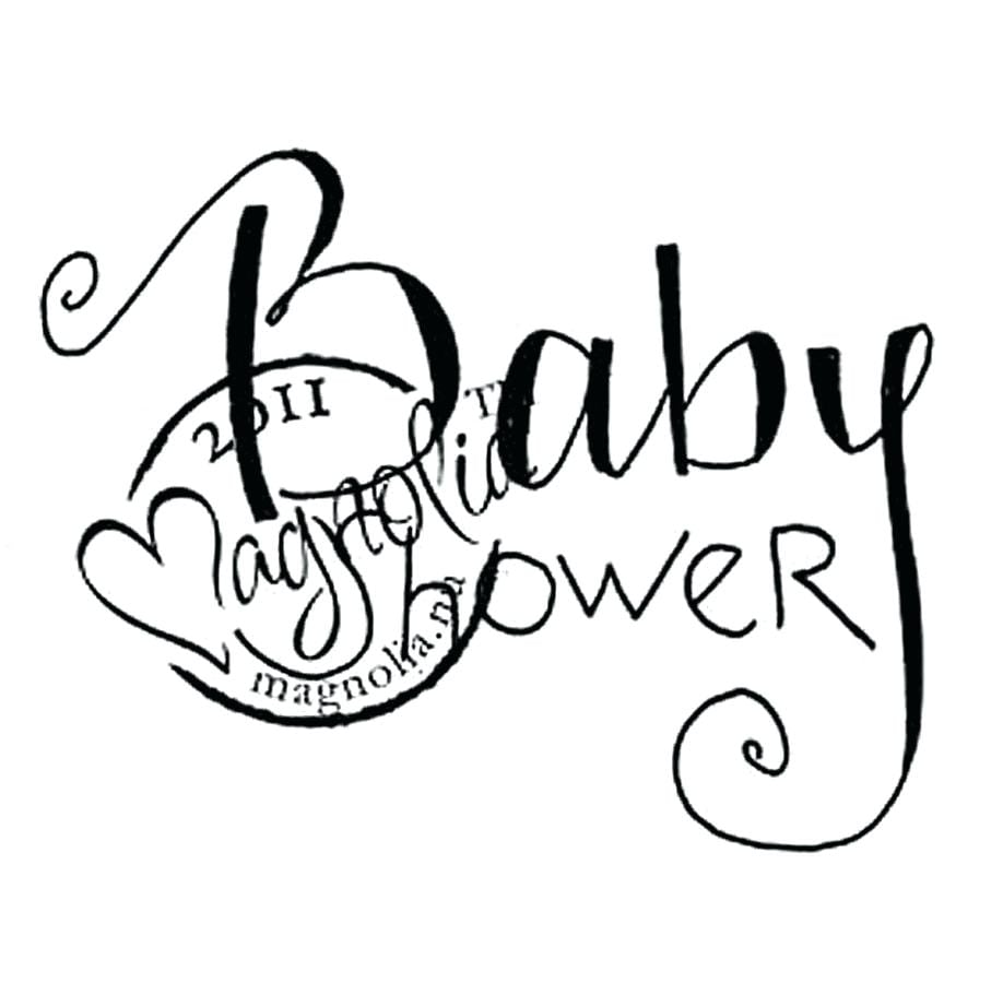Baby Shower Coloring Pages Print 8910 New
